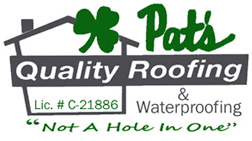 Pat's Quality Roofing